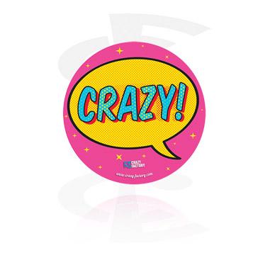 Crazy Factory Sticker