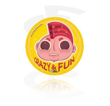 Crazy Factory-klistermärke