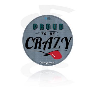 Наклейка Crazy Factory
