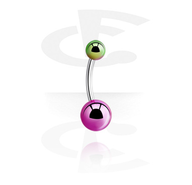 Curved Barbells, Banana, Surgical Steel 316L