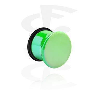 Single flared-plugi