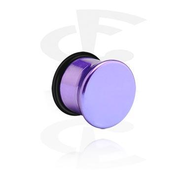 Tunele & plugi, Single Flared Plug, Acrylic
