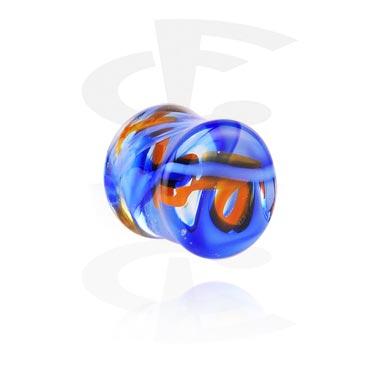 Double flared-plugi