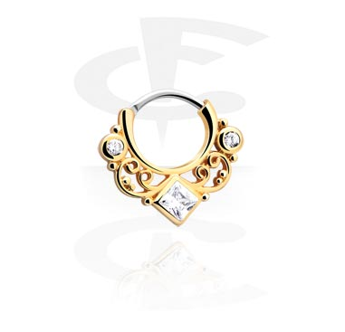 Septum clicker avec strass