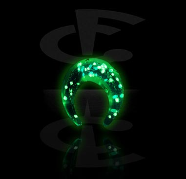 Accessoires pour étirer, Glow in the Dark-Claw, Verre