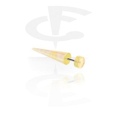 Falešné piercingové šperky, Glitter Fake Expander, Acrylic