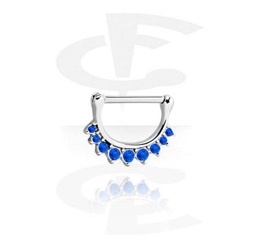 Nipple clicker com crystal stones