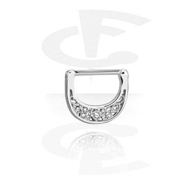 Nipple clicker con crystal stones