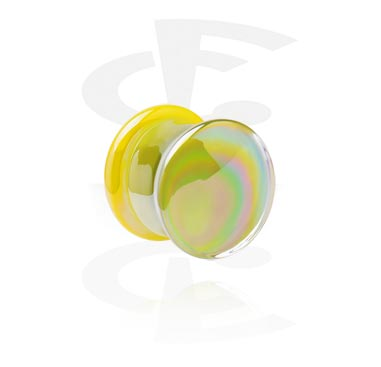 Tunely & plugy, Double Flared Plug, Glass