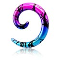 Accesorios para dilatar, Espiral dilatadora, Acrílico