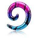 Accessoires pour étirer, Spirale pour étirement du lobe, Acrylique