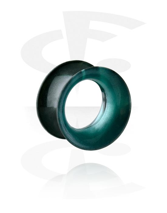 Tunnels & Plugs, Double Flared Tunnel, Silicone