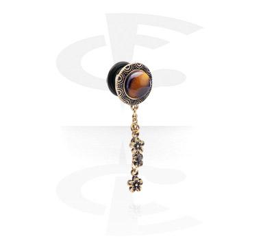 Plugg med filigrant smycke