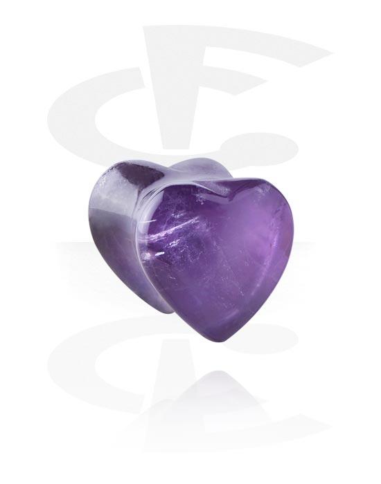 Tunnelit & plugit, Heart-Shaped Flared Plug, Kivi