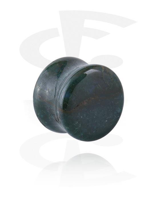 Tunele & plugi, Double Flared Plug, Kamień
