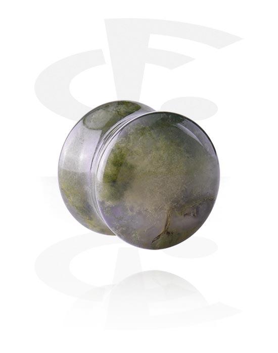 Tunnelit & plugit, Double Flared Plug, Synteettinen kivi