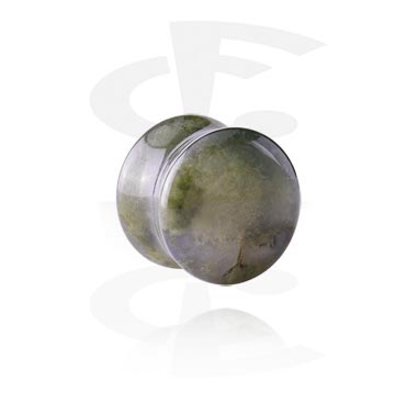 Tunely & plugy, Double Flared Plug, Synthetic Stone