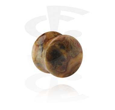 Gemstone Double Flared Plug