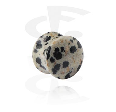 Tunely & plugy, Double Flared Plug, Synthetic Stone