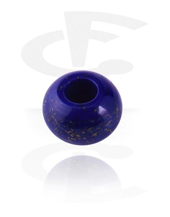 Hiuskorut, Dread Bead, Lapis lazuli