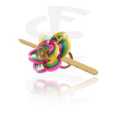 Akcesoria do włosów, Hair Slide, Bamboo