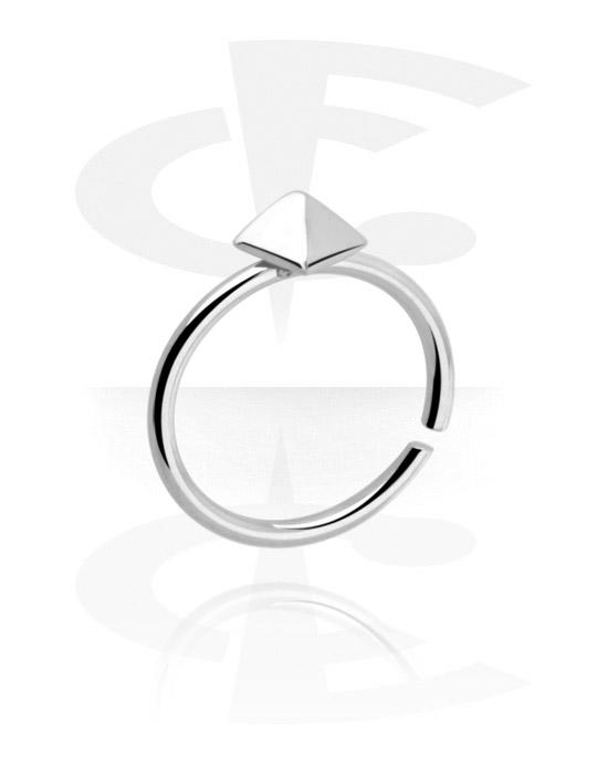 Kółka do piercingu, Continuous ring, Stal chirurgiczna 316L