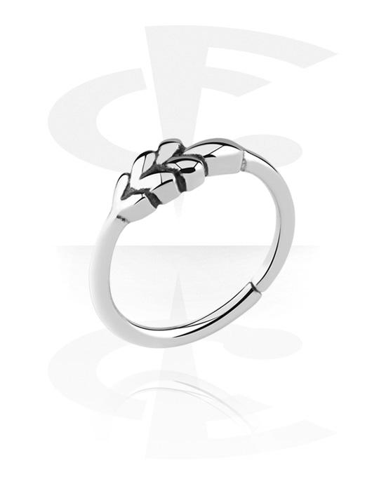 Piercing ad anello, Continuous ring, Acciaio chirurgico 316L