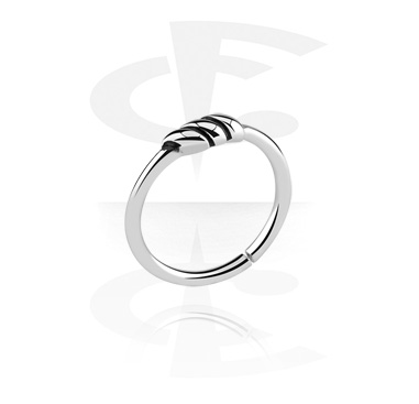 Piercing Rings, Continuous ring, Surgical Steel 316L