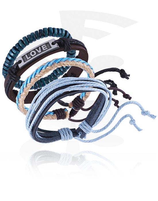 Bracelets, Fashion Bracelet, Leather, Imitation Leather