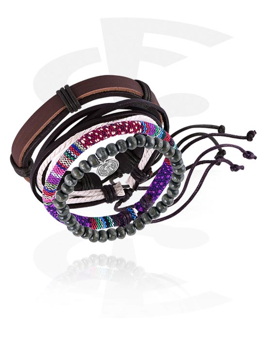 Armbånd, Fashion Bracelet, Imitation Leather
