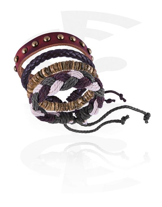 Náramky, Fashion Bracelet, Imitace kůže