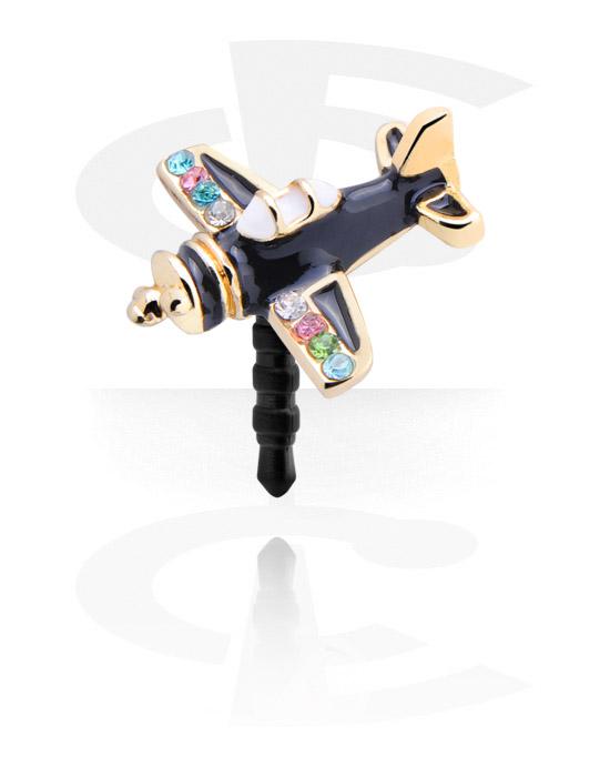 Telefonpynt, Earphone Plug Charm , Resin, Zinc Alloy