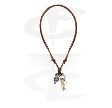 Náhrdelníky, Fashion Necklace, Leather