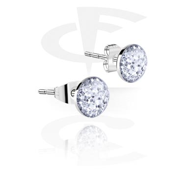 Glitterline Steel Ear Studs