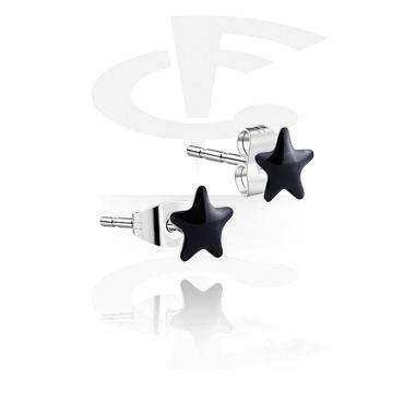 Enamel Steel Ear Studs