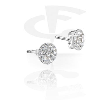 Crystaline Ear Studs