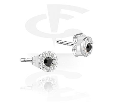 Studs d'oreille crystaline