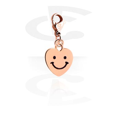 Charm with Heart Design