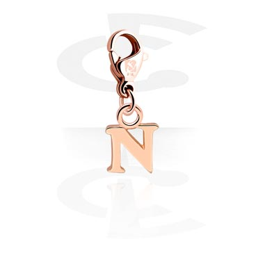 Charm with Letter