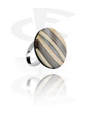 Coco Stripe Ring