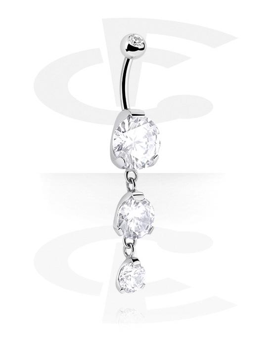 Zahnuté činky, Fashion Banana s crystal stones