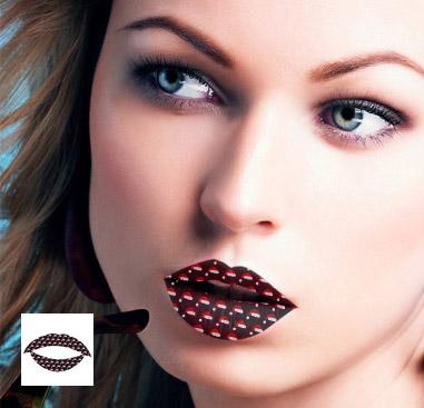Lippen-Tattoo