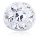 Einzelteile & Zubehör, Kristallsteinkugel mit Epoxyüberzug