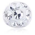 Kulor & Attachments, Kristallstenskula med epoxyövedrag, Kirurgiskt stål 316L