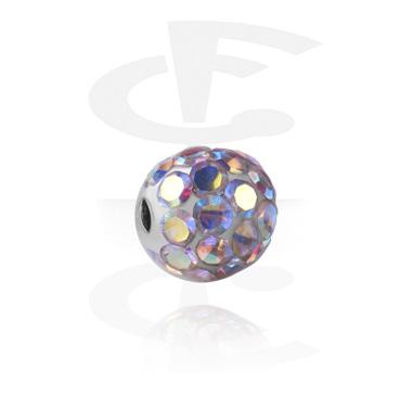Boule pour ball closure rings