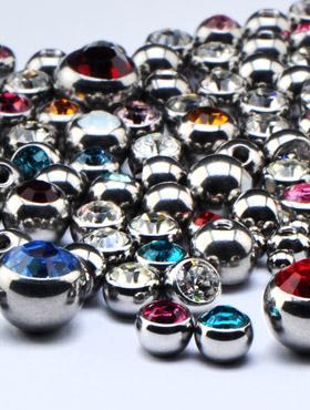 Kristallsteinkugeln für 1.6mm