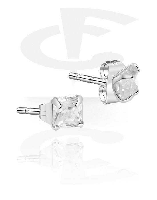 Náušnice, Ear Studs, Stříbro 925