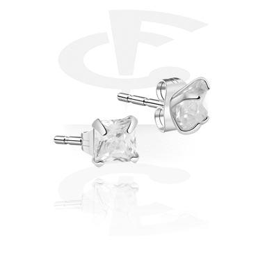 Naušnice, Ear Studs, Surgical Steel 316L