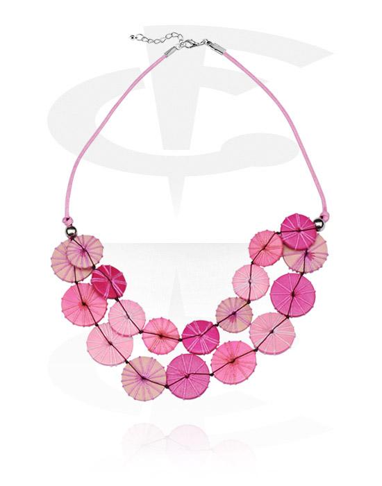 Halsketten, Modische Halskette, Holz, Nylon, Nylon