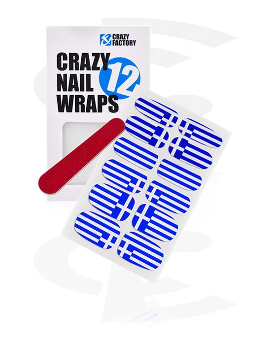 Nail Stickers, Nail Sticker, Papier transferowy, Tusz